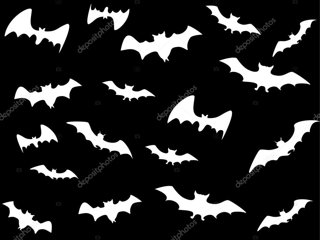 Vector wallpaper for halloween day — Stock Vector #2669024