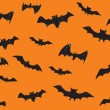behang voor halloween dag — Stockvector