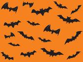 Wallpaper für halloween-tag — Stockvektor