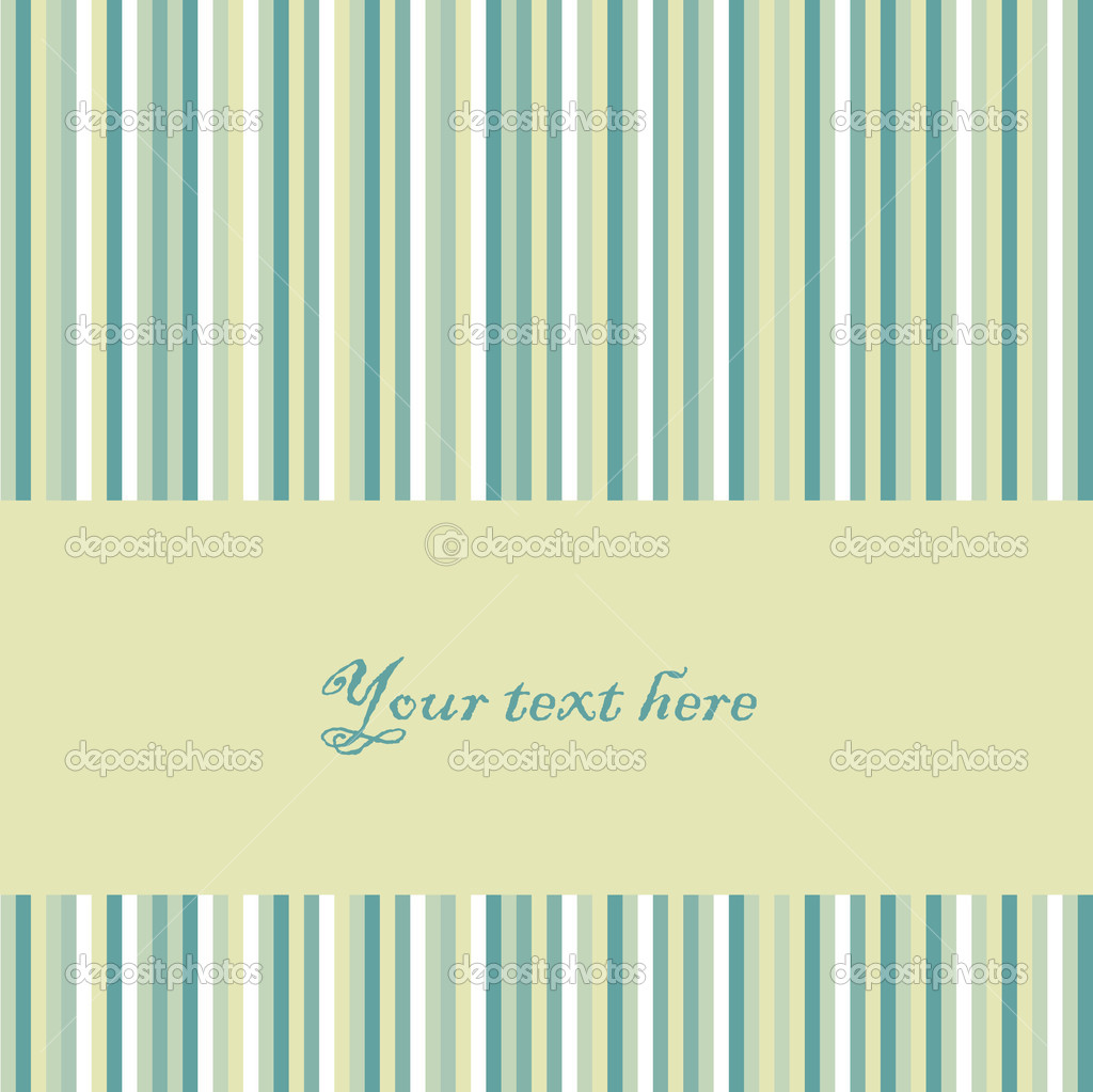 Vector retro striped background. — Stock Vector #1595602