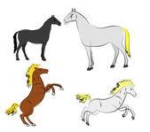 Vector horse — Stock Vector