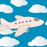 Vector plane — Stock Vector #2613425