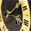 Stock Photo: Antique clock dial with Arabic numerals