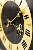 Antique clock dial with Arabic numerals — Stock Photo