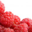 Royalty-Free Stock Photo: Fresh raspberries background isolated