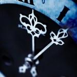Dark antique clock — Stock Photo