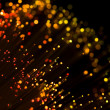Red shining fiber optic — Stock Photo #1753712