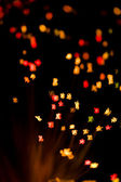 Abstract holiday lights background — Stock Photo