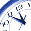 Clock showing time about twelve — Stock Photo