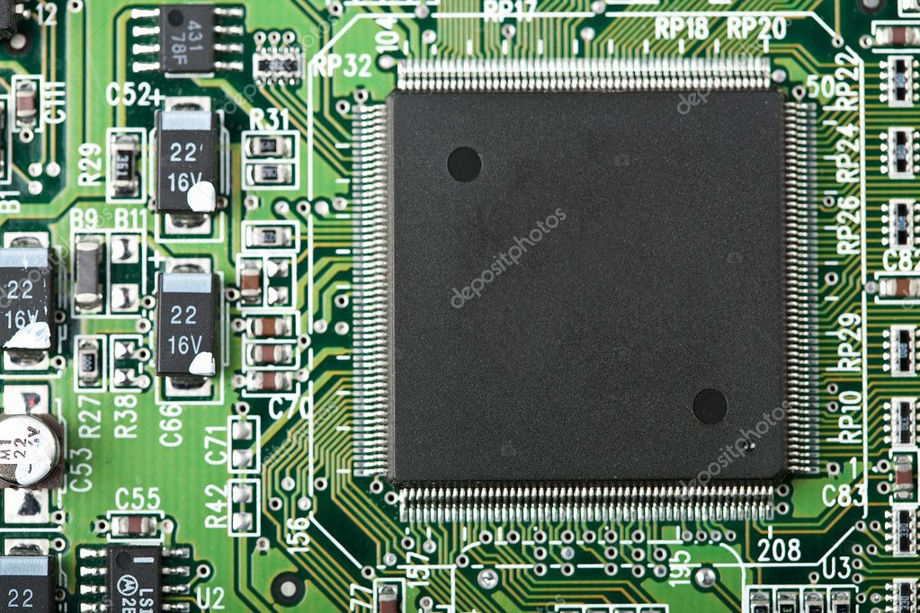 Electronic board  — Stock Photo #1962437