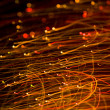 Abstract light trails background — Stock Photo