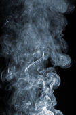 Abstract smoke over black background — Stock Photo