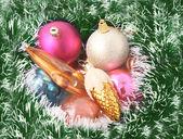 Christmas-tree decoration — Stockfoto