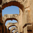 The coliseum el Jem — Stock Photo
