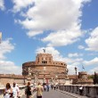 Castel Sant'Angelo in Rome - Stock Photo