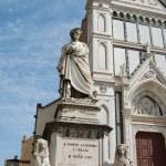 Постер, плакат: Monument Dante Alighieri in Florence