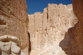 White canyon in Egypt — Stock Photo