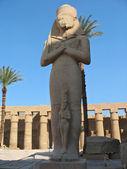 Statue of Ramses 2 in Karnak temple — Stock Photo