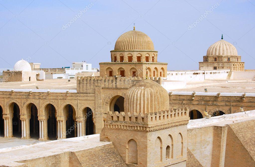 Tunisia Moschea Kairouan Grande Moschea di Kairouan