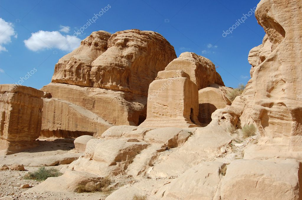 Petra in Jordan.  — Stock Photo #1519749