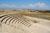Amphitheatre in paphos, Cyprus — Stock Photo