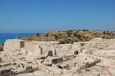 Greek-Roman amphitheater Curium — Stock Photo