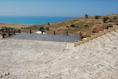 Greek-Roman amphitheater Curium — Stock Photo