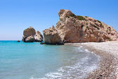 Rock of Aphrodite or Petra tou Ramiou — Stock Photo