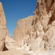 White canyon in Egypt — Stock Photo