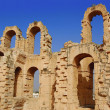 Stock Photo: Colosseum el jem