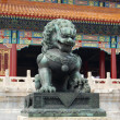 Stok fotoğraf: China Royal Bronze Lion