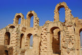 The Colosseum el jem — Stock Photo