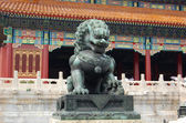 China Royal Bronze Lion — Stock Photo