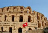 Tunis, el Jem - The coliseum — Stock Photo