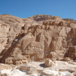 Stock Photo: White canyon in Egypt