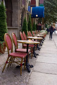 Street cafe — Stockfoto