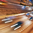 Fast moving cars at night — Stock Photo #1420653