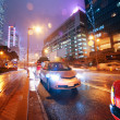 Traffic at night — Stock Photo #1420672