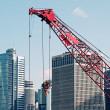 Buildings under construction — Stock Photo