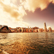 Stock Photo: Hong Kong downtown