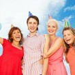 Picture of a happy friends — Stock Photo
