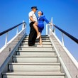 Cabin crew couple — Stock Photo #1421456