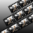 filmstrip collage — Stock Photo