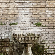 Abstract brick wall texture - Stock Photo