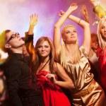 Dancing in the night club — Stock Photo #1422958