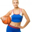 Portrait of a basketball player — Stock Photo #1422970