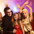 Dancing in the night club — Stock Photo #1423009