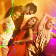 Dancing in the night club - Stock Photo