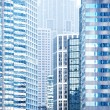 Urban buildings background — Stock Photo