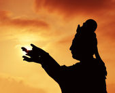 仏教彫像 — ストック写真